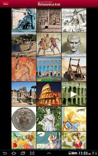 Britannica Kids: Ancient Rome- screenshot thumbnail