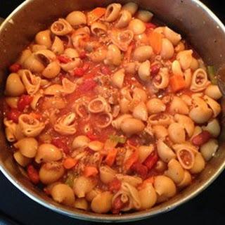 Easy Pasta Fagioli