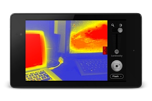 Screenshot of Thermal Vision Camera