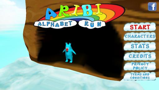 Aribi Alphabet Run Pro