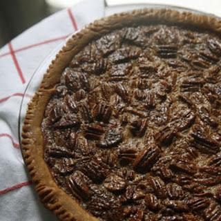 Black Bottom Pecan Pie
