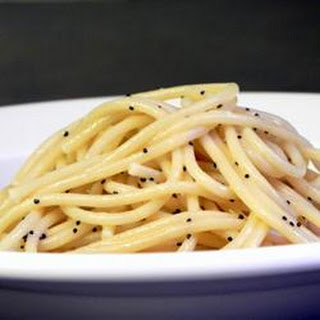 Poppy Seed Spaghettini