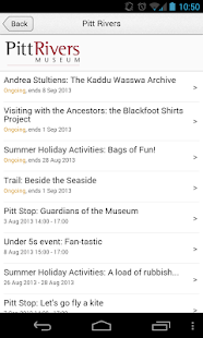 Explore Oxford Uni Museums - screenshot thumbnail