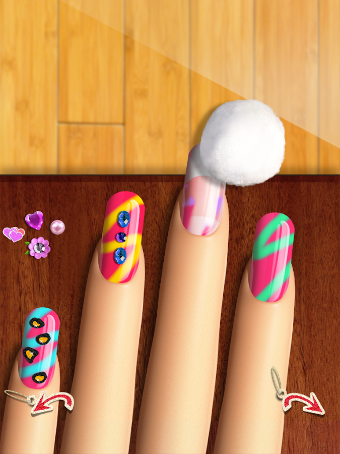 Nail games top girls makeup and makeover salon android apps on nail games top girls makeup and makeover salon screenshot prinsesfo Gallery
