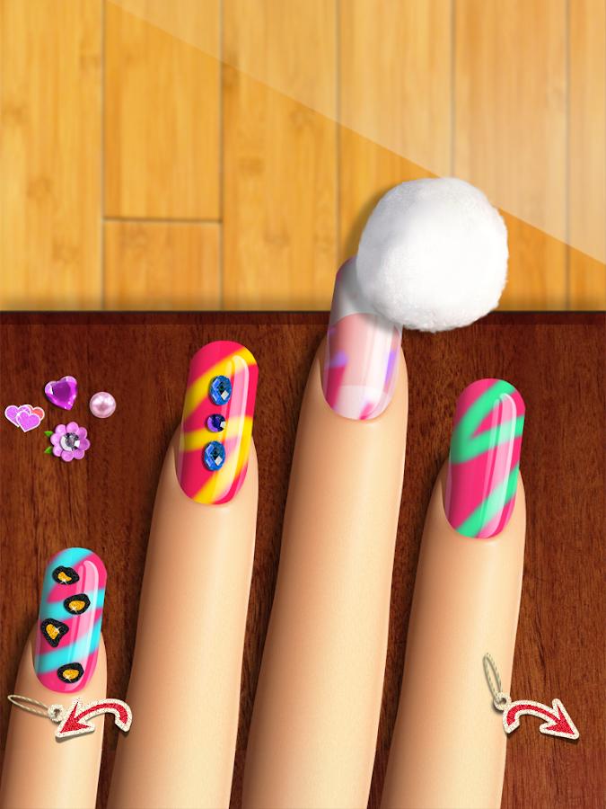 Nail games top girls makeup and makeover salon android apps on nail games top girls makeup and makeover salon screenshot prinsesfo Image collections