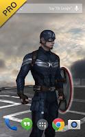 Screenshot of Captain America: TWS Live WP
