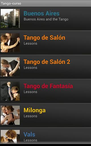 Tango-curso