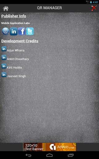 免費商業App QR Manager 阿達玩APP