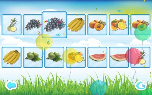 Fruits Memory Game for Kids - screenshot thumbnail