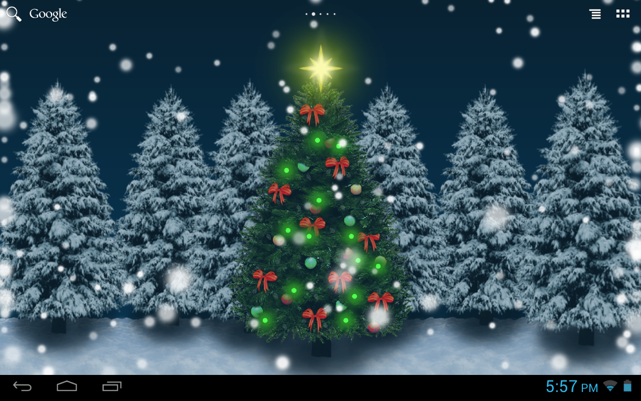 christmas crystal ball free lw android apps on google play. Black Bedroom Furniture Sets. Home Design Ideas