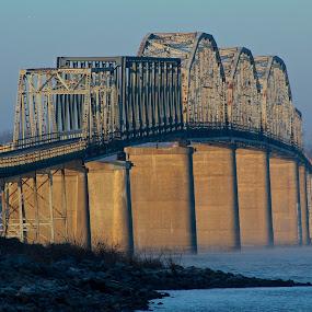 Eggners Ferry Bridge by Ross Bolen - Buildings & Architecture Bridges & Suspended Structures