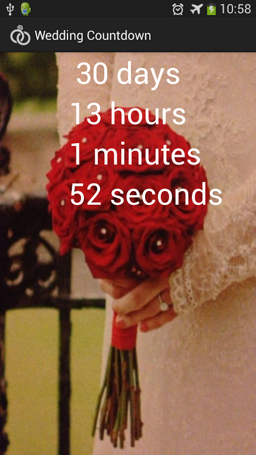 Wedding Countdown- screenshot