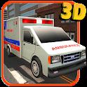 3d Ambulância simulador icon