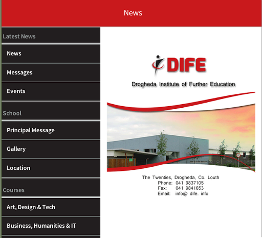 【免費教育App】Drogheda Institute Further Ed.-APP點子