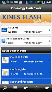 Kinesiology Flash Cards- screenshot thumbnail
