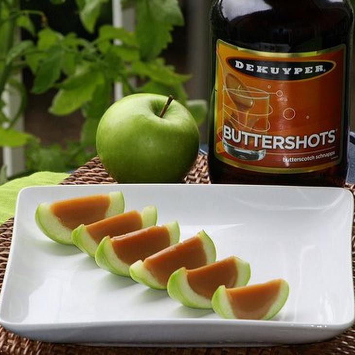 How to Make Caramel Apple Shots Recipe