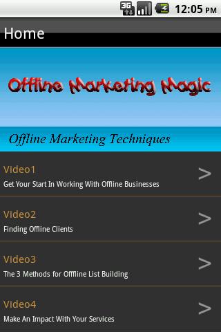 Offline Marketing Magic