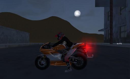 Dirt Road Motorcycle