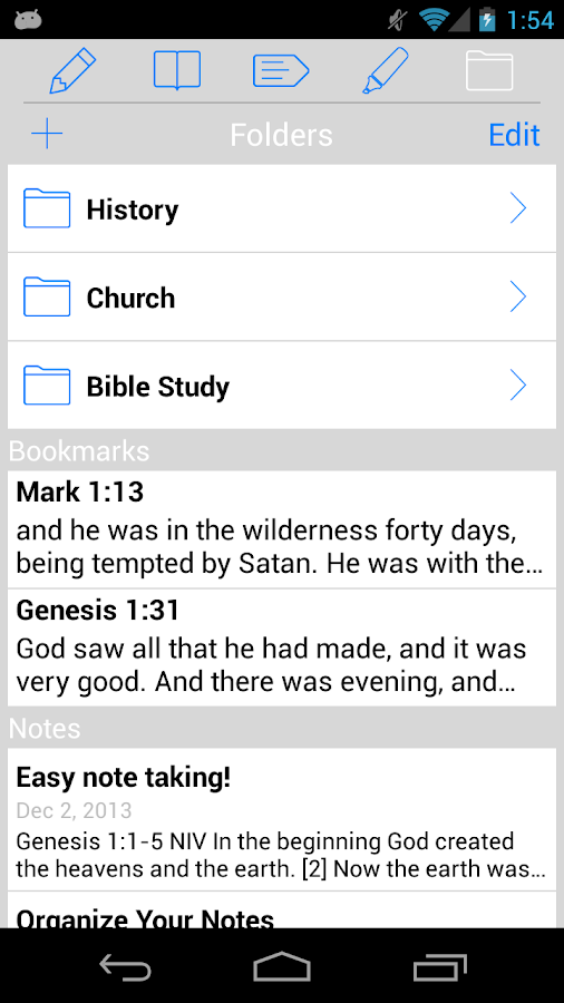 The Holy Bible - KJV - screenshot