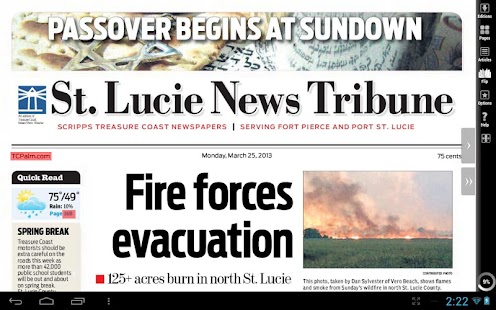 St. Lucie News Tribune- screenshot thumbnail