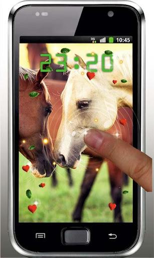 Horses n Love live wallpaper