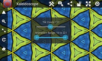 Screenshot of Kaleidoscope Pro