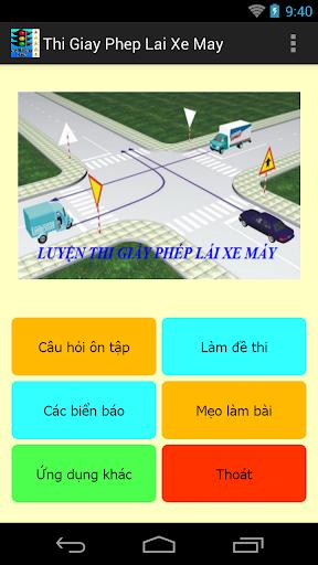 Luyện thi giấy phép lái xe máy