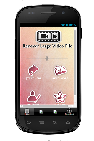 Recover Large Video File Guide