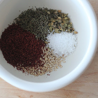 Hand-Mixed Za'atar Seasoning.