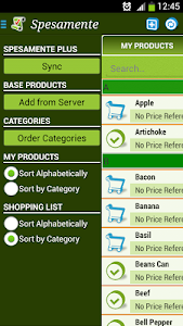 Shopping List Spesamente screenshot 2