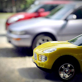 my dream yellow car by Horhe Jacon Tolentino - Artistic Objects Toys ( toy, object )