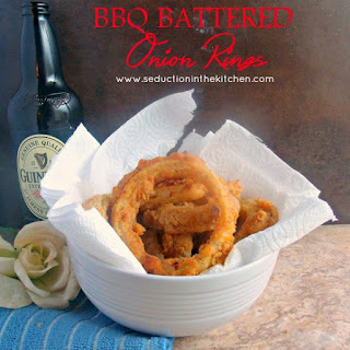 BBQ Battered Onion Rings