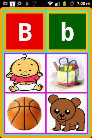 Kids Mega ABC Lite - screenshot