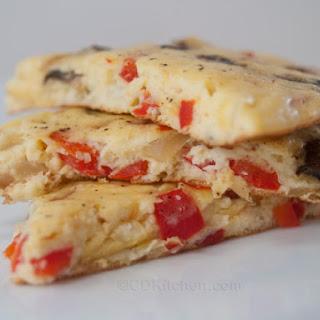 Baked Mashed Potato Omelet.