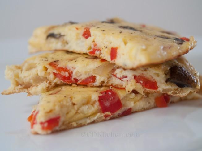 Baked Mashed Potato Omelet Recipe