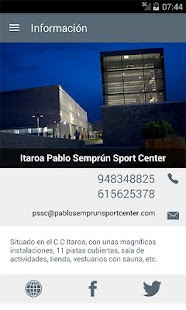Pablo Semprun Sport Center- screenshot thumbnail