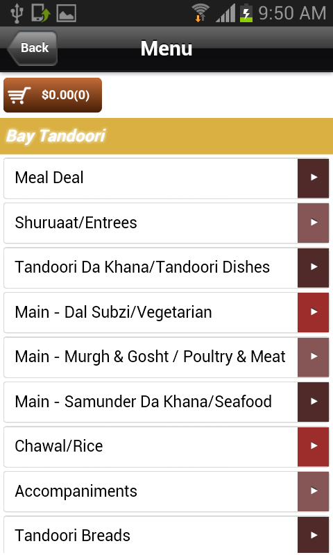 Bay Tandoori- screenshot