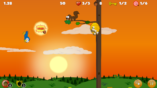 Buster's Squirrel Game Lite- screenshot thumbnail