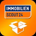 Umzug: Immobilien Scout24 logo
