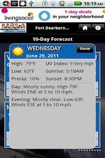 WGN Weather - screenshot thumbnail