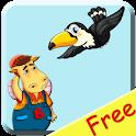 Буквоед и птицы free icon