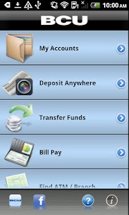 BCU Mobile Banking - screenshot thumbnail