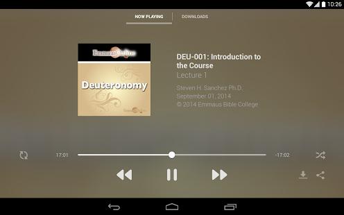 Emmaus Bible College- screenshot thumbnail