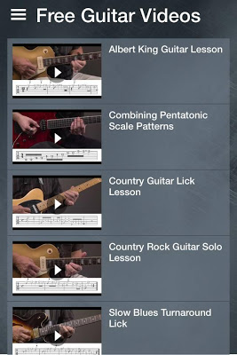 Free Guitar Lessons - screenshot