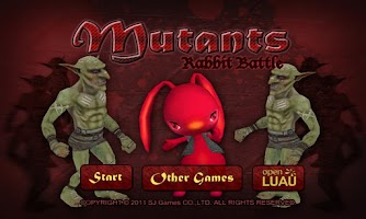 Screenshot of Mutants Rabbit Battle