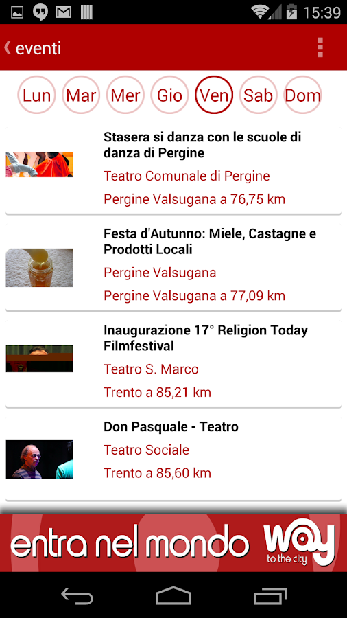 Way Trento- screenshot