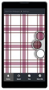 Plaid Live Wallpaper FREE - screenshot thumbnail