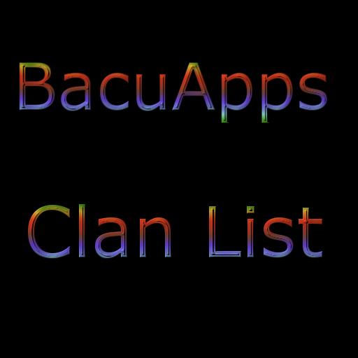 BacuApps Clan List 書籍 LOGO-阿達玩APP