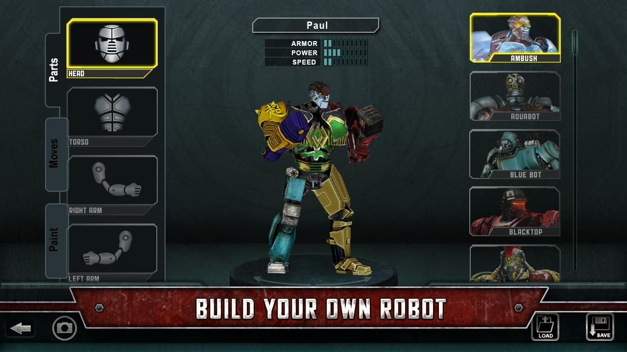 Real Steel Friends - screenshot