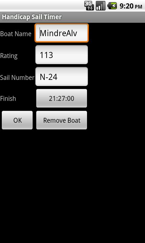 Regatta Scoreboard Free - screenshot
